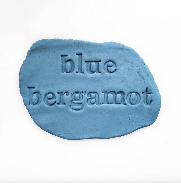 BLUE BERGAMOT PLAYDOUGH