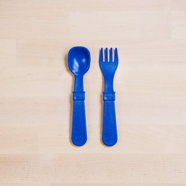 RE-PLAY FORK & SPOON SET (Navy)