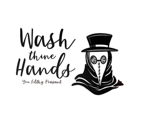 Digital Download of Wash Thine Hands - Sign Series