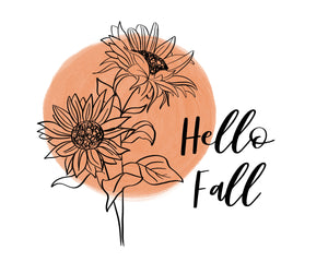 Digital Download of Hello Fall - Sign Series