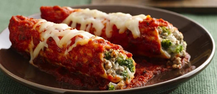 Creamy Corn and Spinach Enchiladas