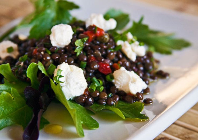 A Greek Picnic Salad