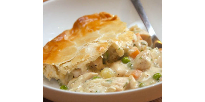 Chicken Pot Pie with Sweet Potatoes