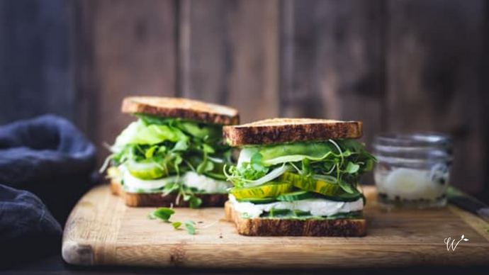 Crispy Green Goddess Sandwich