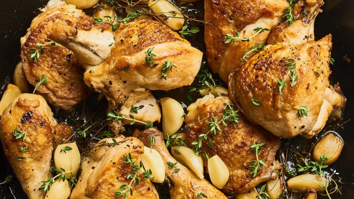 Forty-Clove Garlic Chicken