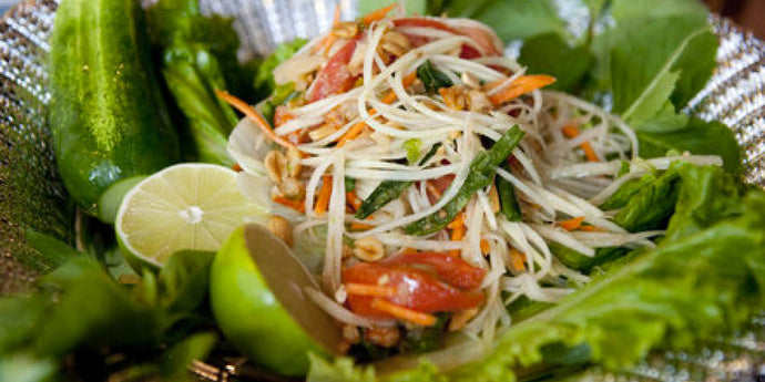 Supper Club No. 11 - Green Papaya Salad