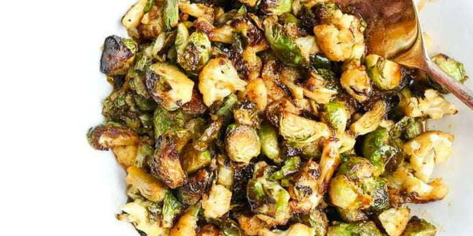 Supper Club No. 12 - 15-min Crispy Cauliflower and Brussels Sprouts