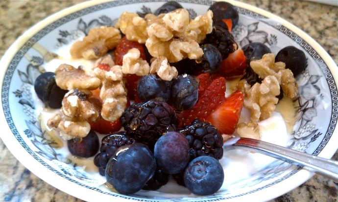 Greek Yogurt and Berries