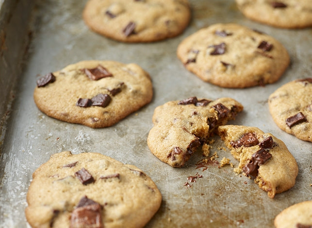 Triple Gluten-Free Chocolate Chip Cookies
