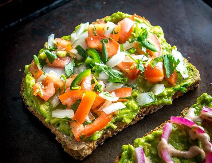 Mexican Style Avocado Toast