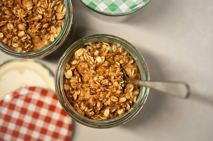 Slow Cooker Apple and Sultana Steel Cut Oats