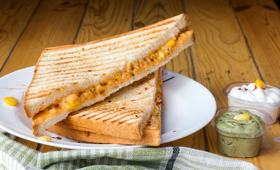 Grilled Cheese with Apple Panini