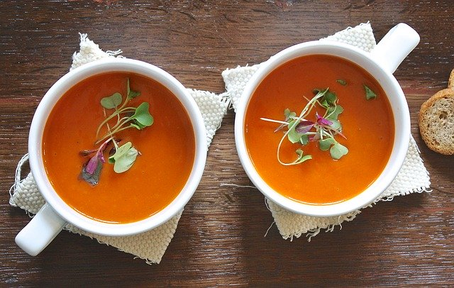 Fennel and Tomato Basil Soup