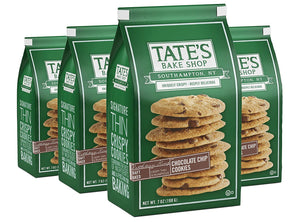 Tate's Bake Shop Thin & Crispy Cookies, Chocolate Chip