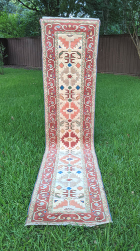 Vintage Turkish Runner 2.4'x9.9'