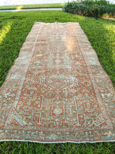 Load image into Gallery viewer, Antique Persian Karajah Runner 4.5x12.3