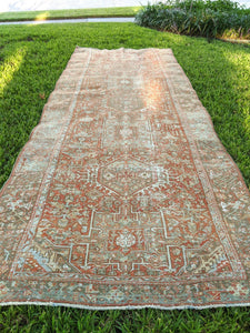 Antique Persian Karajah Runner 4.5x12.3