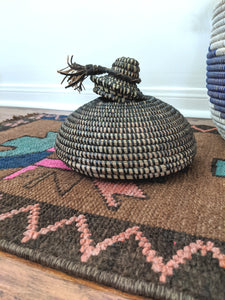 Tolani Lidded Small Basket