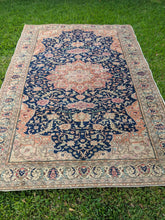 Load image into Gallery viewer, Vintage Turkish Oushak Rug 6.5'x9.8'