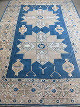 "Load image into Gallery viewer, Vintage Turkish Sultanhani Rug 7'5""x10'9"