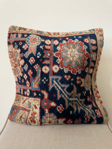 Antique Persian cushion cover
