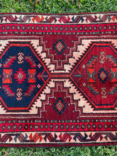 Load image into Gallery viewer, Vintage Persian Runner 2.9x10.11