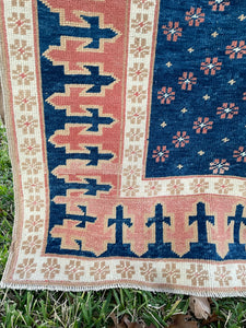 Vintage Turkish Runner 4.6'x10.5'