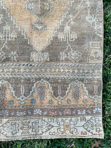 Vintage Turkish Konya Runner 2'x8.5'