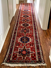 "Load image into Gallery viewer, Vintage Persian Runner 2'5"" x13'"