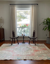 Load image into Gallery viewer, Vintage Turkish Rug 4.7'x7.6'