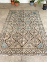 Load image into Gallery viewer, Semi Antique Persian  Hamada 7'x10'2""