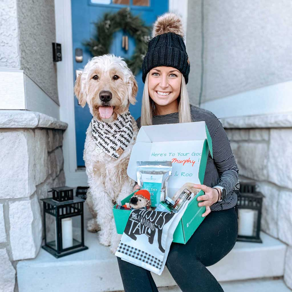 Willie & Roo subscription box for dogs