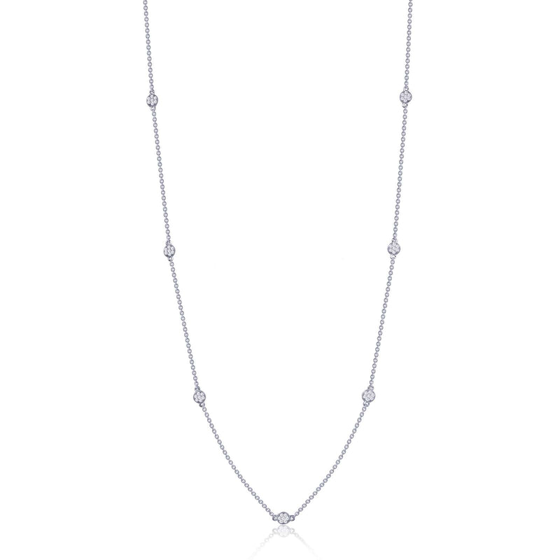 Lafonn Diamond Dot Necklace