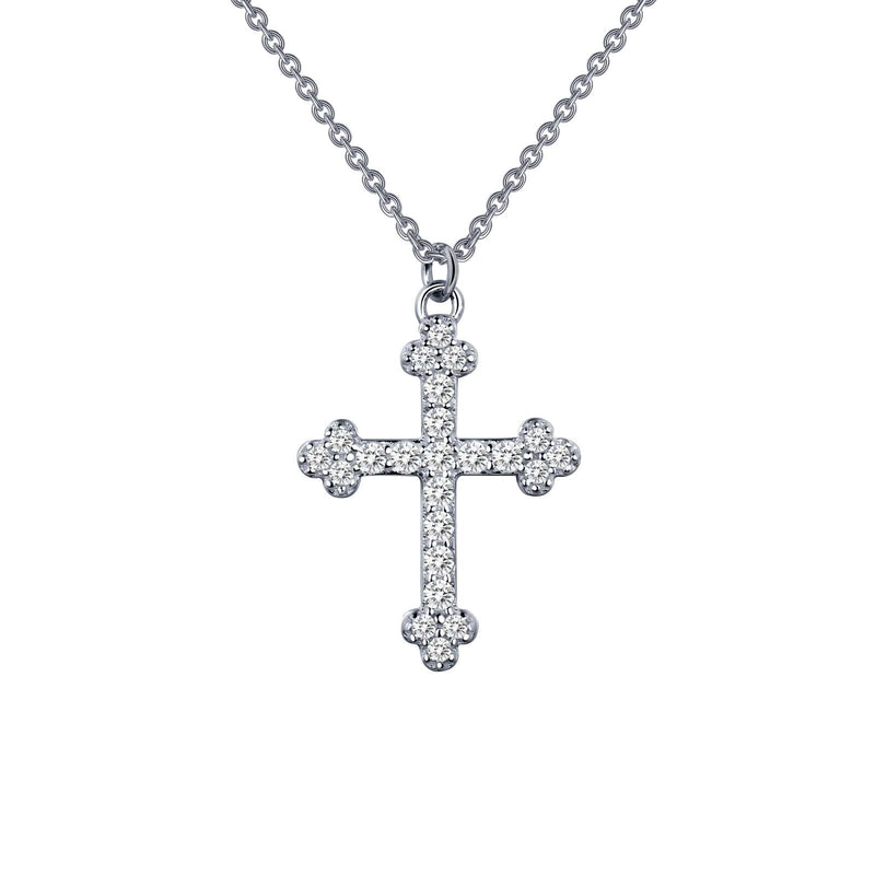 Lafonn 0.35 CTW Cross Necklace