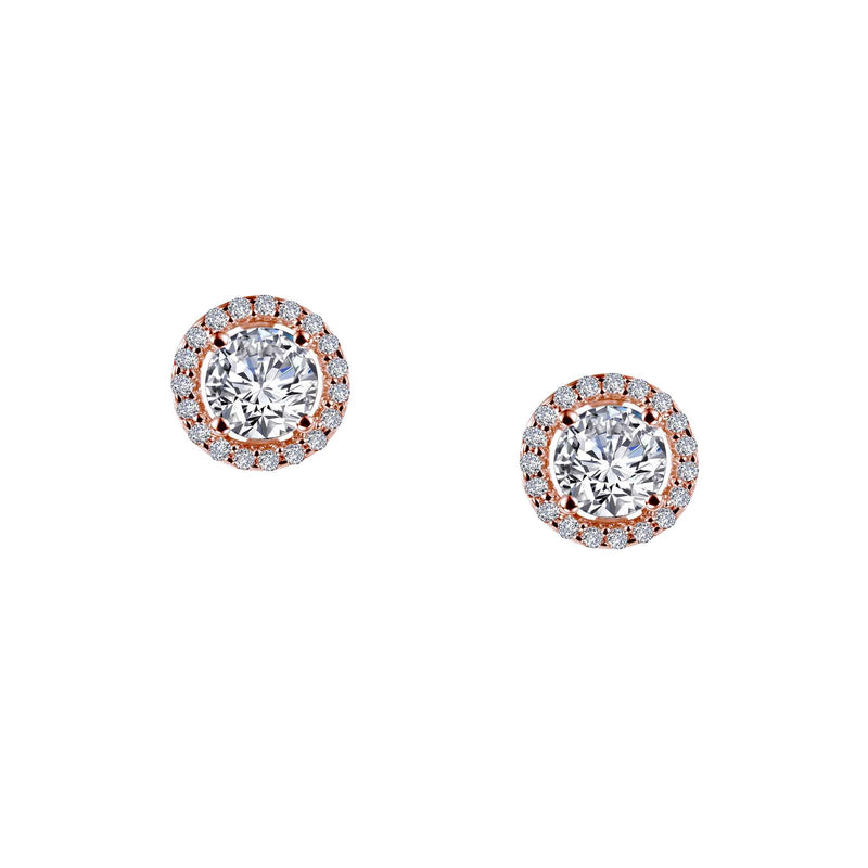 Lafonn 1.3 CTW Halo Stud Earrings