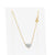 "Lovely 14K Yellow Gold Diamond Eternal Love Heart Pendant Necklace with 17.5"" Chain (0.20ct Carat Diamond Weight)"