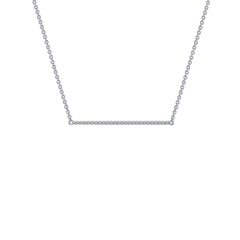 Lafonn 0.26 CTW Bar Necklace