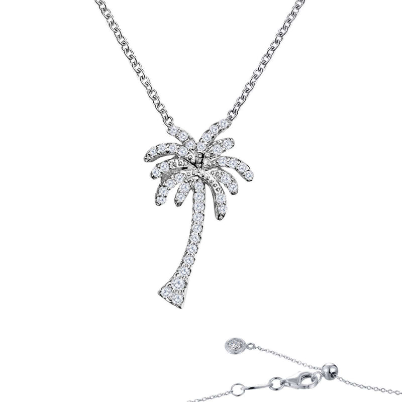 Lafonn Tropical Palm Tree Necklace