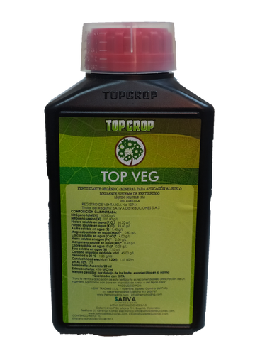 TOP CROP TOP VEG 1 LITRO