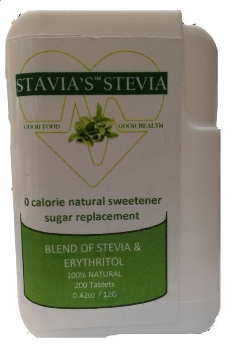 Stavia's™ Stevia tablets in Dispenser - 200 tablets, by Liquid Gold Products