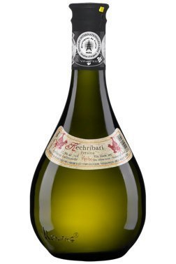 Greek dry white wine retsina, by Kechris in amphora bottle 500ml