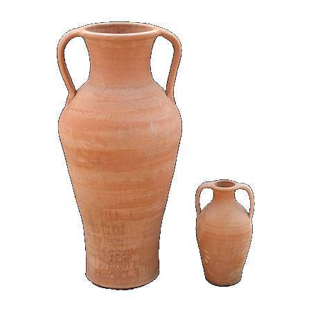 "Greek hand made Ceramic Jar, ""Laina Ekklisia"" - Cretan Ceramic Amphora 1"