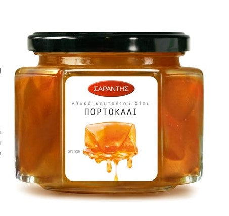 Traditional Greek Fruit Compotes and Preserves from Chios, by Sarantis