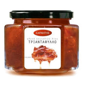 Greek rose petal compote, fruit topping, 'triantafyllo' by Sarantis