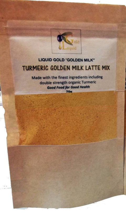 Liquid Gold Turmeric Golden Milk - Latte Mix powder, no added sugar 70 gr