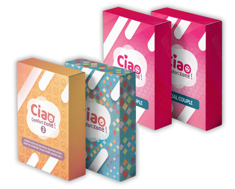 "Mega Pack ""C"" : 2x Ciao Comfort Zone Couple + Ciao Comfort Zone 1 + Ciao Comfort Zone 2"