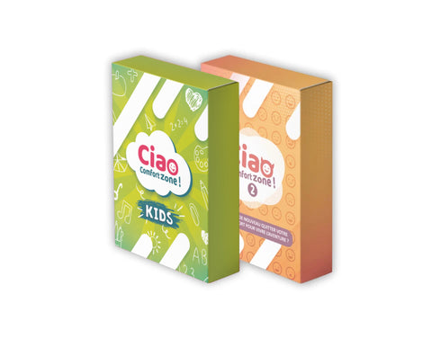 "Pack Duo ""E"" : Ciao Comfort Zone 2 + Ciao Comfort Zone Kids"
