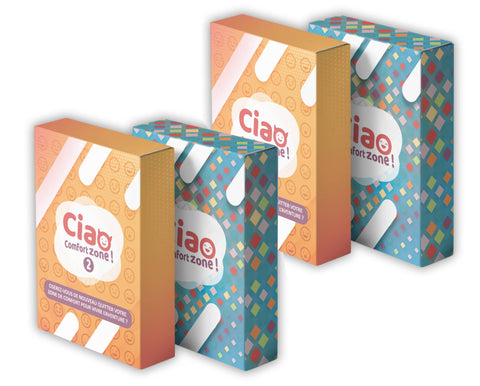 "Mega Pack ""D"" : 2x Ciao Comfort Zone 1 + 2x Ciao Comfort Zone 2"