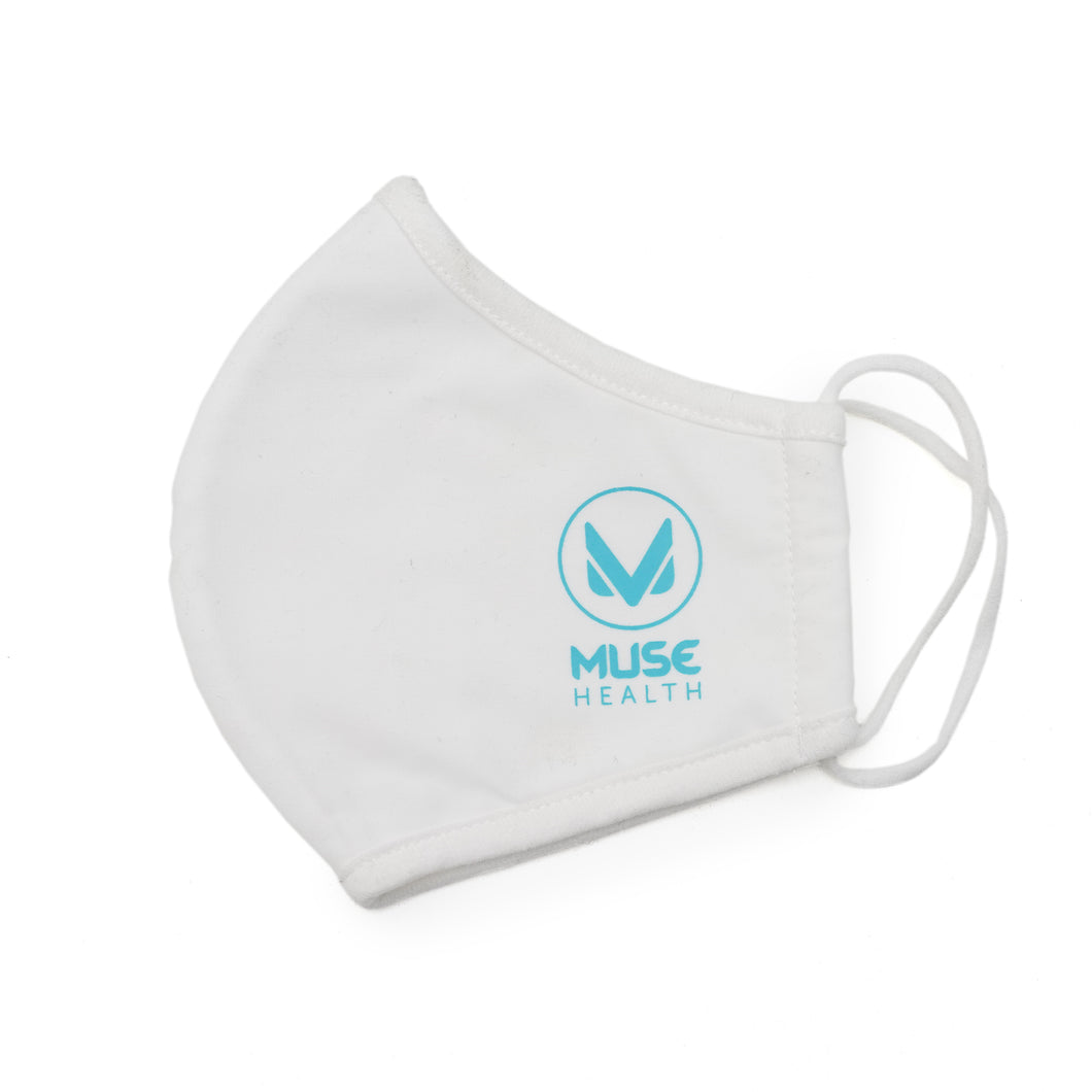 Muse Health Fabric Face Masks - 3 Layer Unisex Reusable, Washable - Muse Health Hand Sanitizer 62% Alcohol Made In USA Fast Shipping Safety Wellness Coronavirus Flattening The Curve Value COVID-19