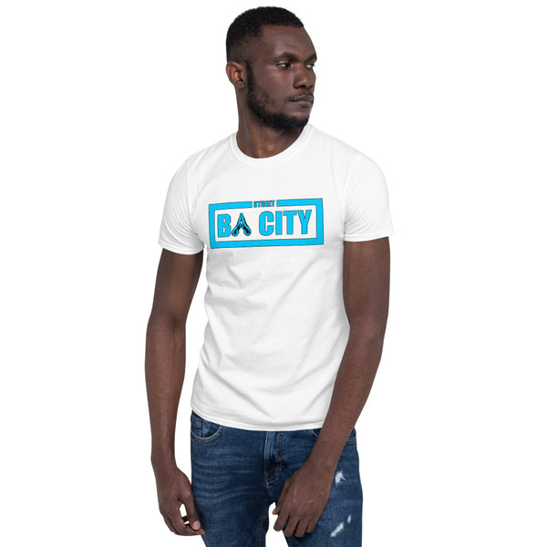 Kurzärmeliges Unisex-T-Shirt BA City